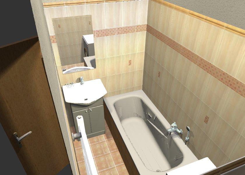 Návrh a realizace koupelny
