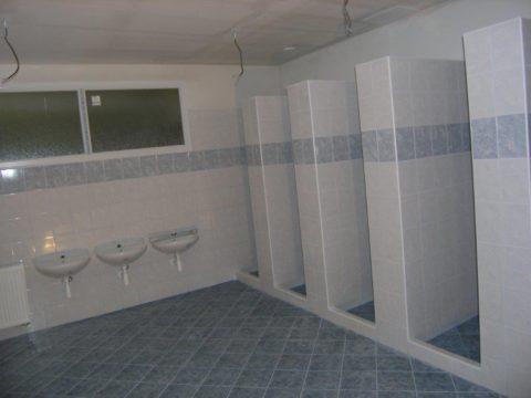 Rekonstrukce sociálního zařízení tábor Zubří