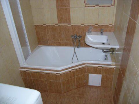 Návrh a rekonstrukce koupelny Nové Město na Moravě