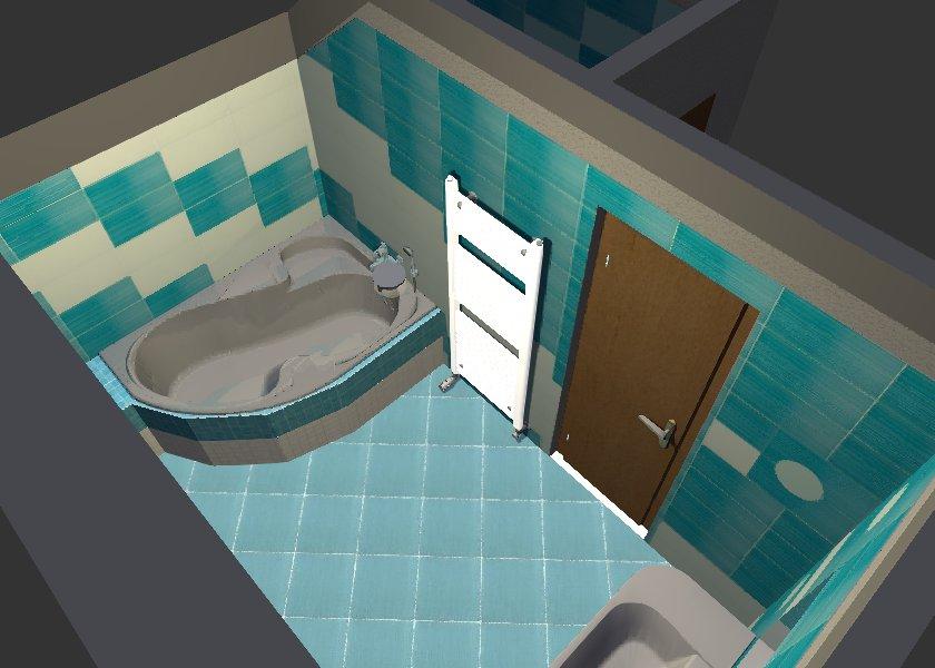 Návrh a realizace koupelny RD Řečice